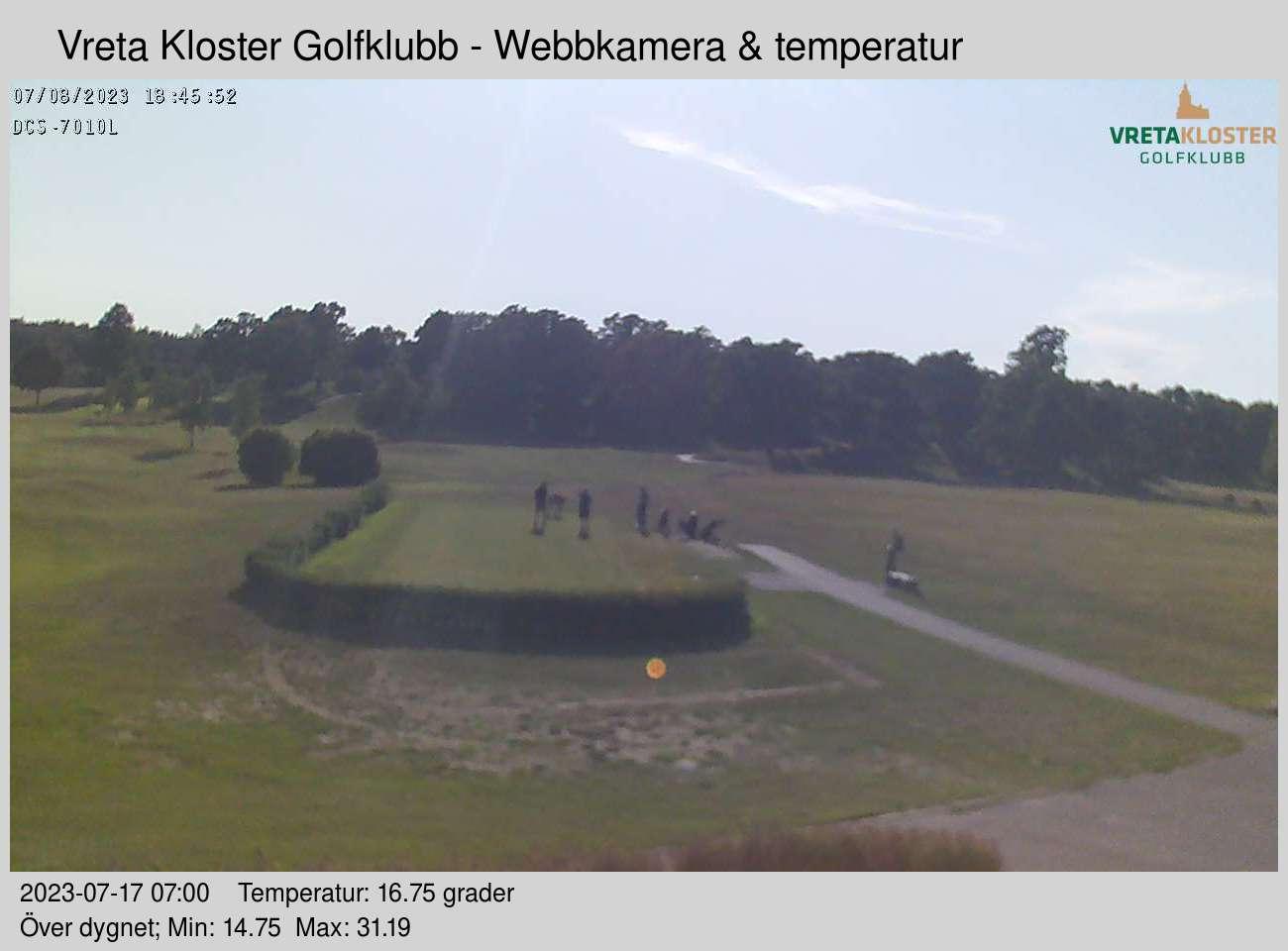 Webbkamera - Vreta Kloster Golfklubb